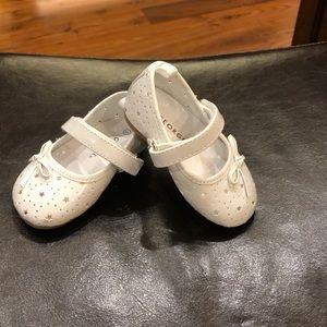 Baby girl Velcro dress shoes